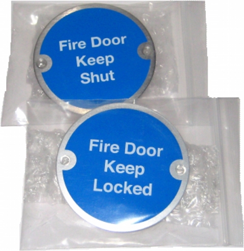Materials Available for Automatic Fire Door Keep Clear