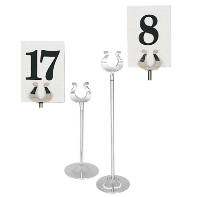 table stand numbers from 4 20